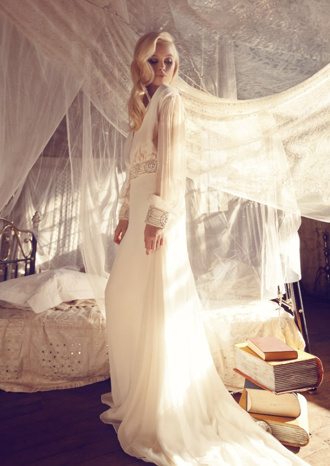 vestido para novia boho