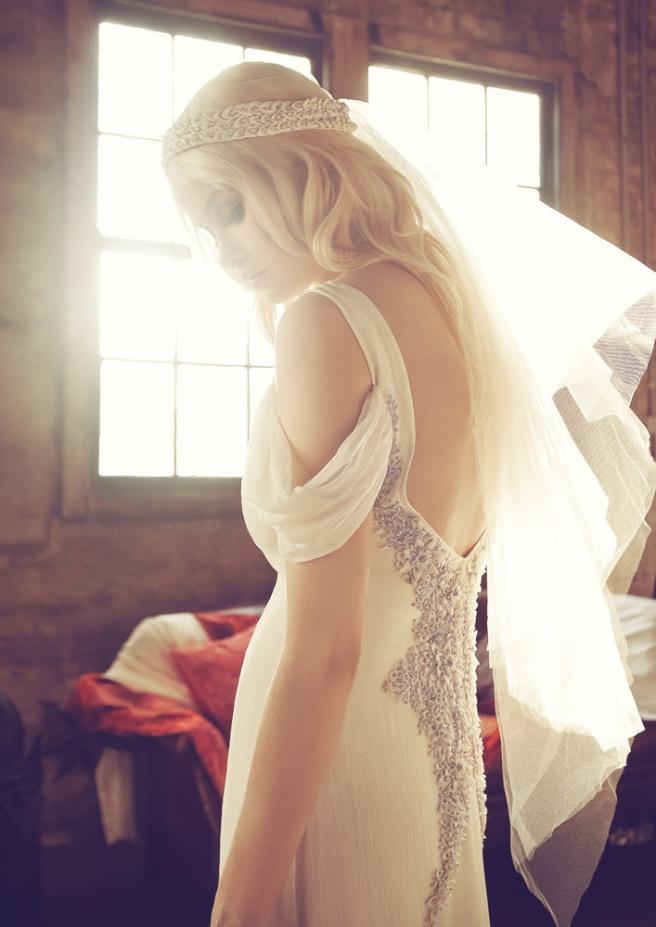 vestido de novia glam