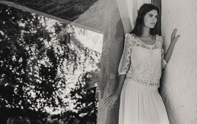 vestidos para novias bohemias