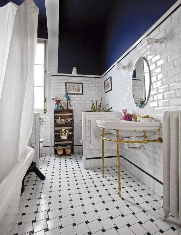 decoración_baño_vintage