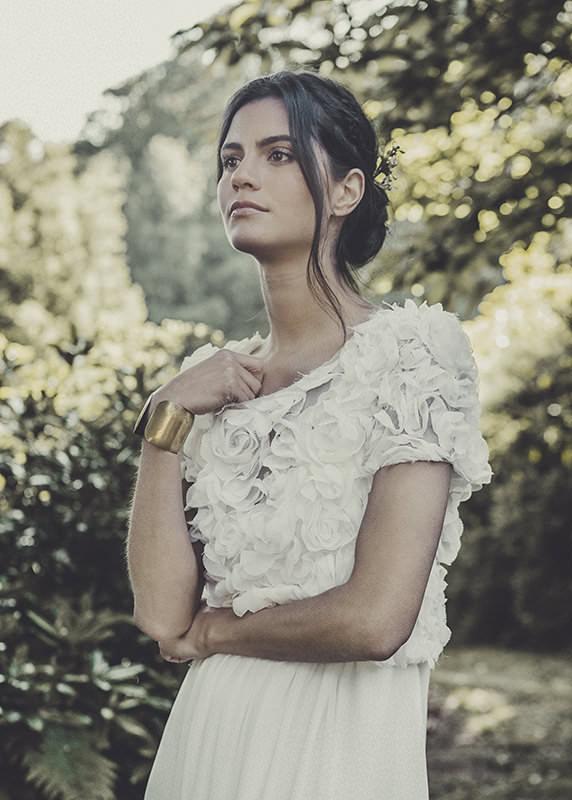 vestido de novia romático