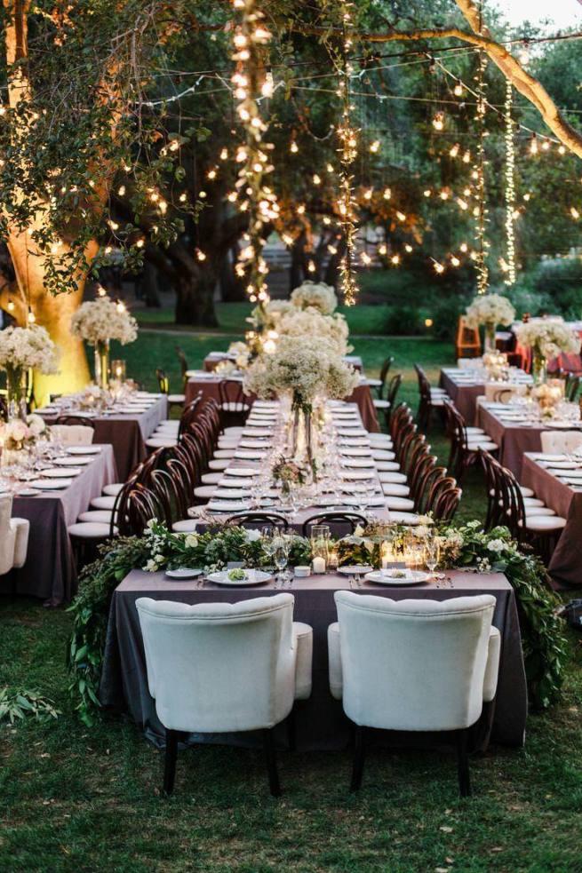 decorar jardín para boda