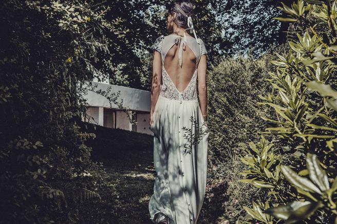 espaldas de vestidos de novia laure sagazan