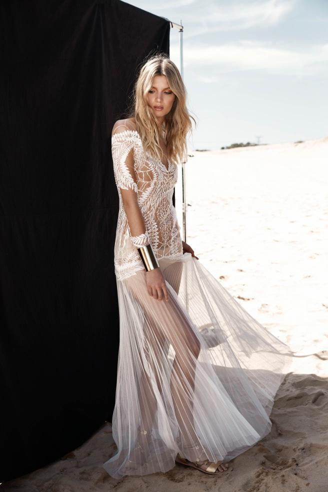 vestido novia transparencia